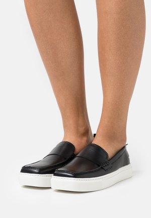 EXCLUSIVE SQUARED LOAFER - Sneaker low - black