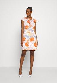 More & More - DRESS SHORT - Cocktail dress / Party dress - melon multicolor - 2