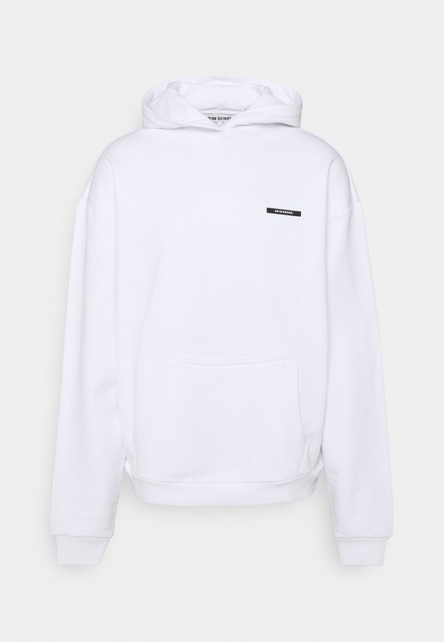 FLAMINGO HOODIE UNISEX - Sweatshirt - white