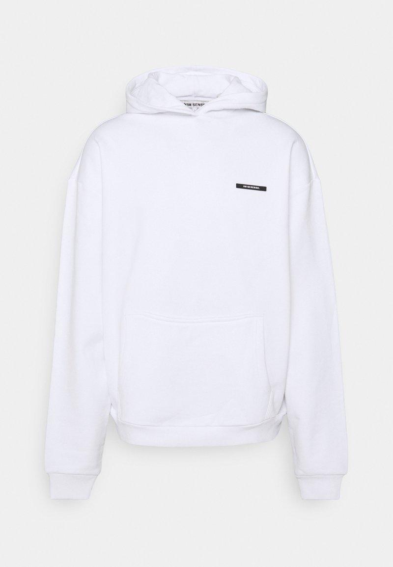 9N1M SENSE - FLAMINGO HOODIE UNISEX - Sweatshirt - white
