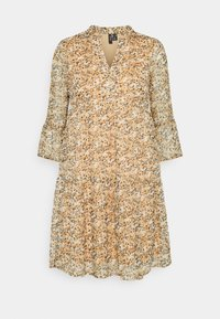 Vero Moda Petite - VMKAY SHORT DRESS - Day dress - tan - 0