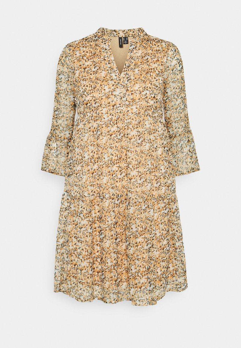 Vero Moda Petite - VMKAY SHORT DRESS - Day dress - tan