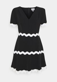 Milly - JOSEPHINE CADY TRIM DRESS - Robe d'été - black - 0