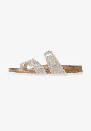BRYCEE - T-bar sandals - silver/multicolor