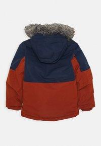 Columbia - NORDIC STRIDER JACKET - Outdoor jacket - dark adobe/collegiate navy - 1