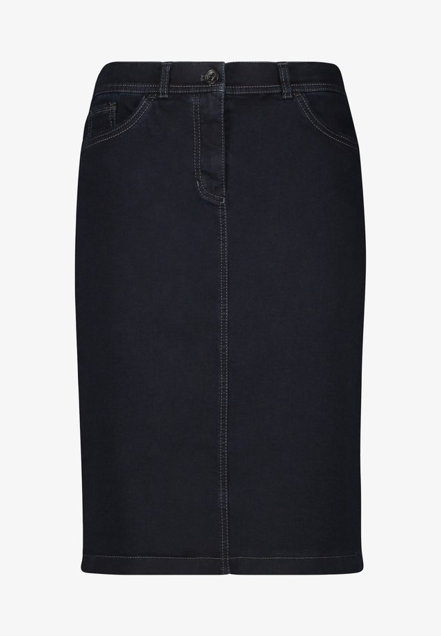 Pencil skirt - dark blue