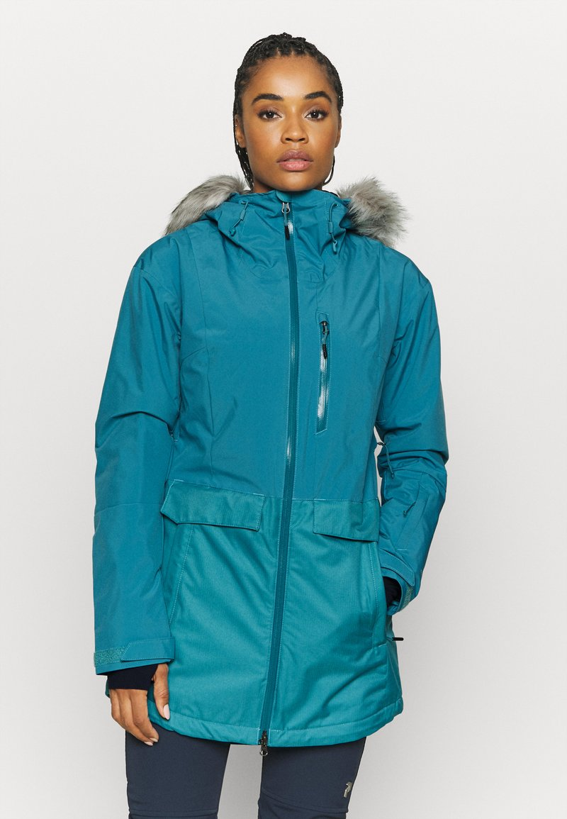 Columbia - MOUNT BINDOINSULATED JACKET - Skijakke - canyon blue