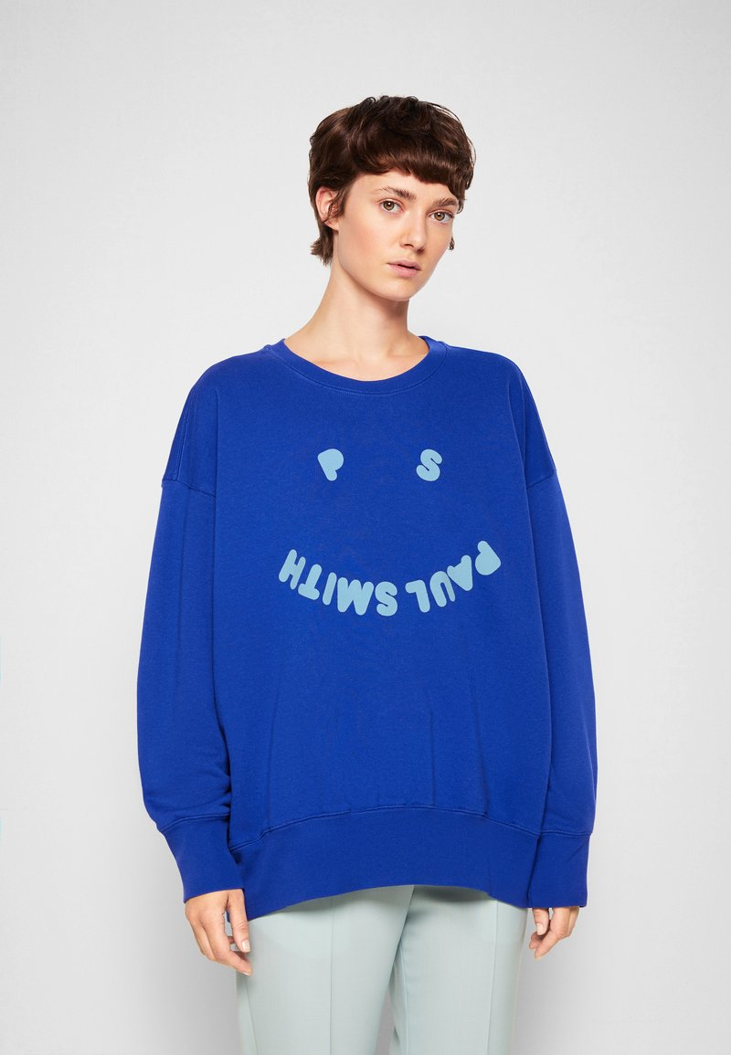PS Paul Smith - WOMENS FACE - Mikina - blue