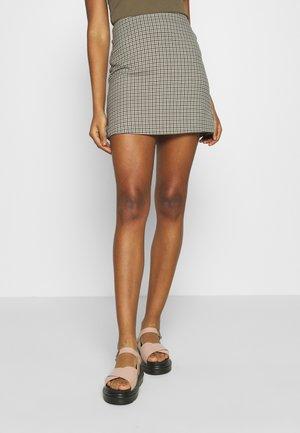 RIVER SKIRT - Spódnica mini - beige