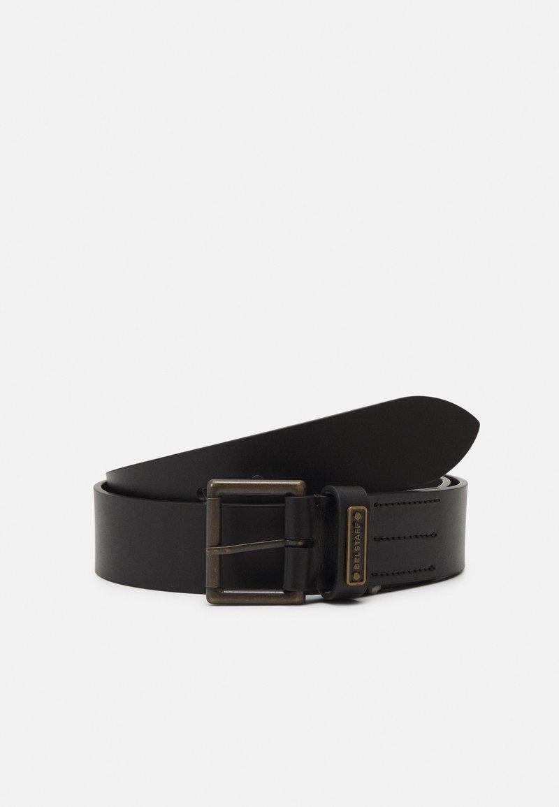 Belstaff - LEDGER BELT UNISEX - Belt - black