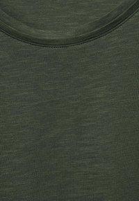 Cecil - Basic T-shirt - olive - 4