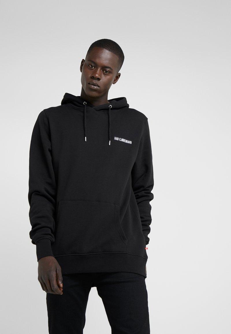 Han Kjøbenhavn - CASUAL HOODIE - Hoodie - black
