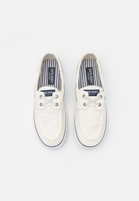 Sperry - BAHAMA  - Boat shoes - white - 3