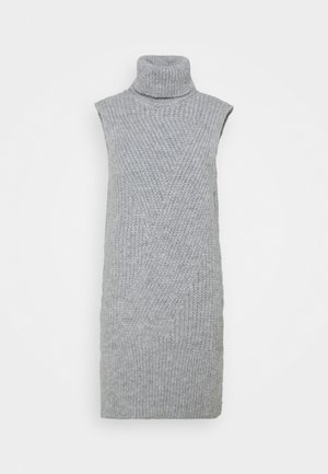 Jumper dress - light grey melange