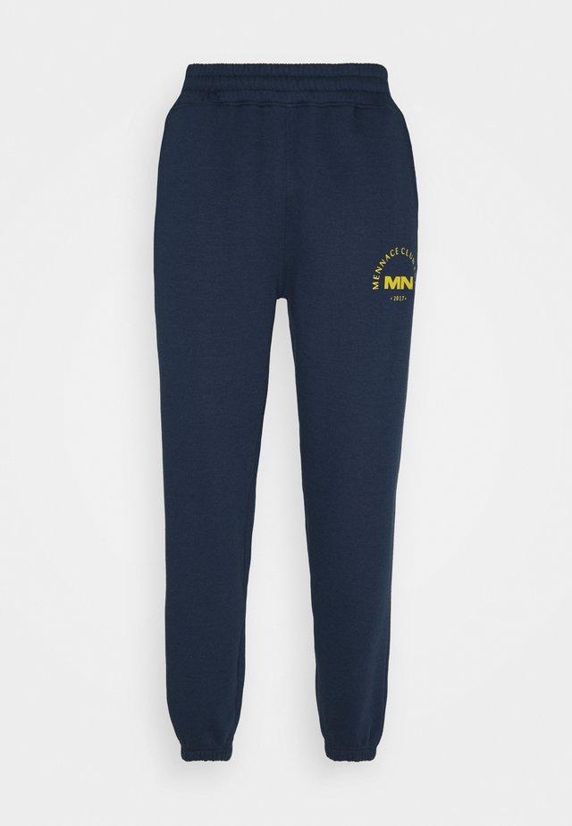 CLUB EST UNISEX - Teplákové kalhoty - blue