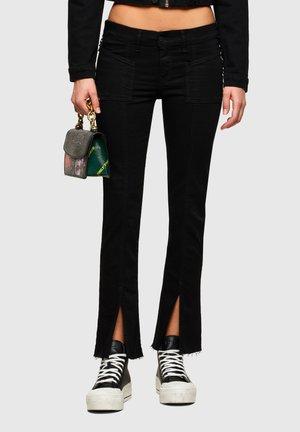 Flared Jeans - black dark grey