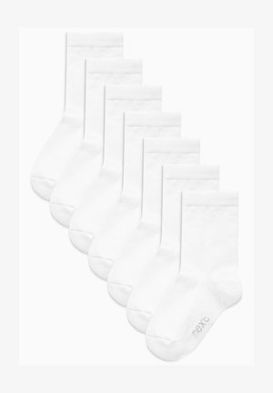 SEVEN PACK - Sukat - white