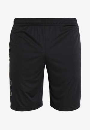 TECH GRAPHIC SHORT - Sports shorts - black/graphite