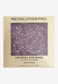 Revolution PRO - ULTIMATE CRYSTAL EYE QUAD - Eyeshadow palette - pink topaz - 3
