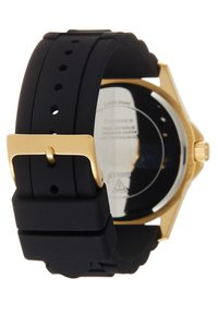 Guess - UNISEX SPORT DATE - Watch - black/gold-coloured - 1