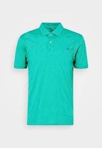 Polo shirt - pager green/azure blue