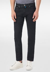 Pierre Cardin - FUTUREFLEX LYON - Jeans Tapered Fit - black blue - 0