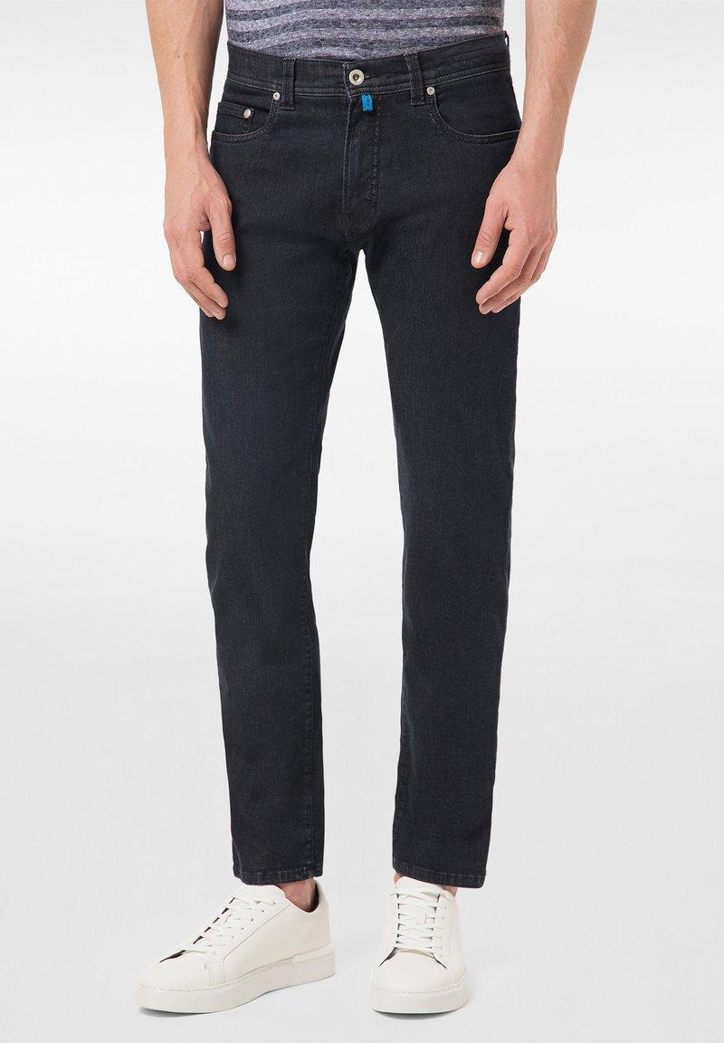 Pierre Cardin - FUTUREFLEX LYON - Jeans Tapered Fit - black blue