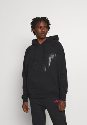 HOODY BIG HORSESHOE - Sweatshirt - black