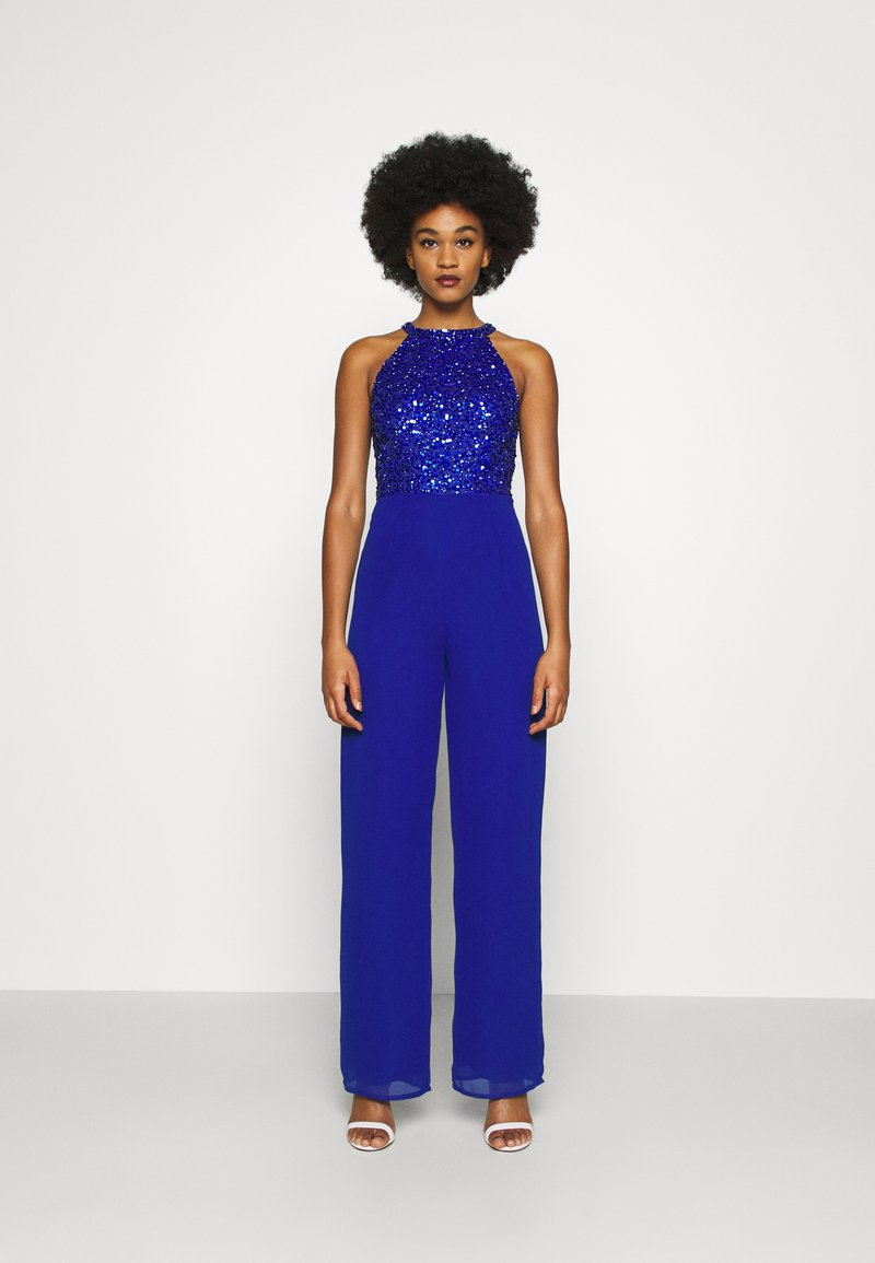 Lace & Beads - AVA - Jumpsuit - strong blue