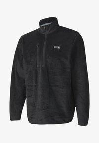 Puma Golf - SHERPA ZIP - Fleece jumper - black - 3