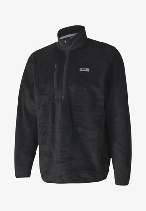 SHERPA ZIP - Fleecepaita - black