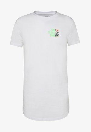 WITH CHESTPRINT - T-shirt print - white