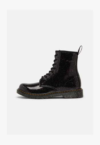 1460 Y - Lace-up ankle boots - purple cosmic glitter