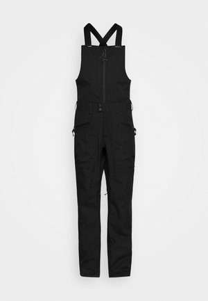 RESERVE BIB - Snow pants - true black