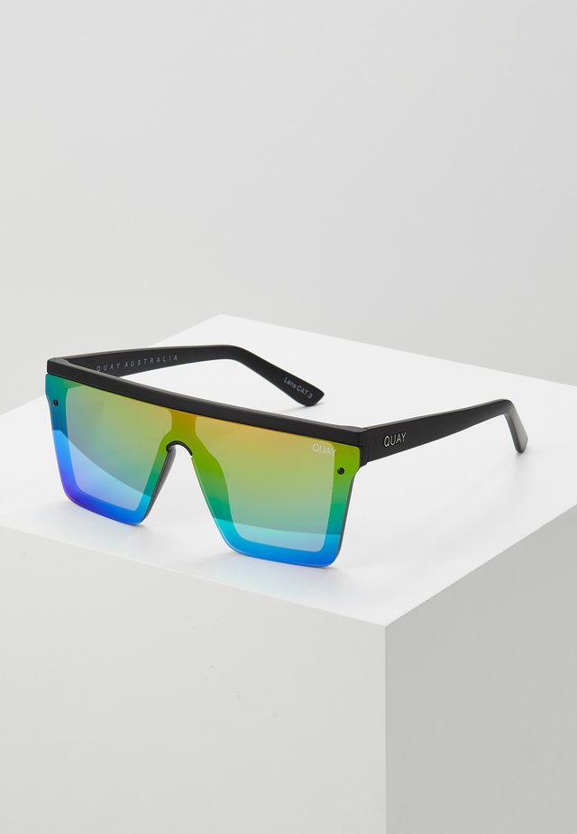 HINDSIGHT - Occhiali da sole - matte black/rainbow