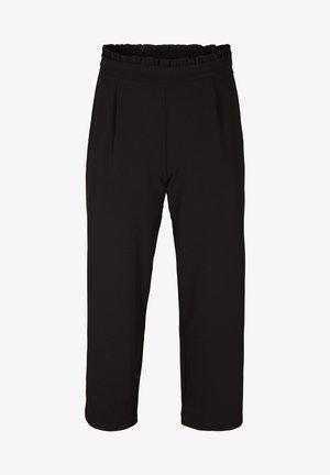 WEIT AUSGESTELLTE - Trousers - black