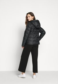 MICHAEL Michael Kors - LOGO PUFFER - Down jacket - black