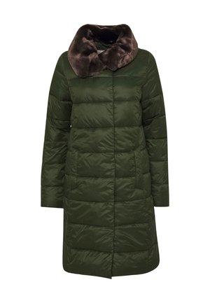 TEASEL QUILT - Classic coat - sage