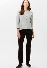 BRAX - STYLE MARY - Slim fit jeans - clean black black - 1