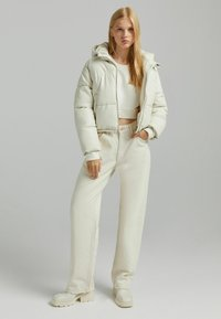 Bershka - Light jacket - off-white - 1