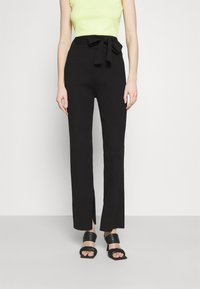 4th & Reckless - AMY TROUSER - Kalhoty - black - 0