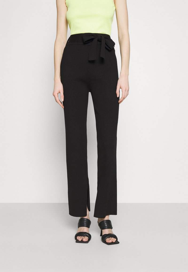4th & Reckless - AMY TROUSER - Kalhoty - black