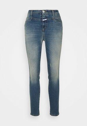 SKINNY PUSHER - Skinny džíny - mid blue