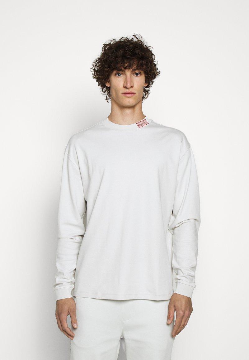 HUGO - DOTCH - T-shirt à manches longues - natural