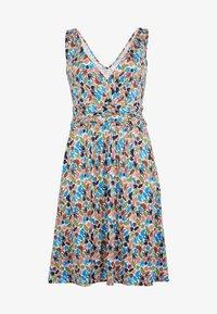 Boden - EFFIE  - Jersey dress - naturweiß, palme - 4