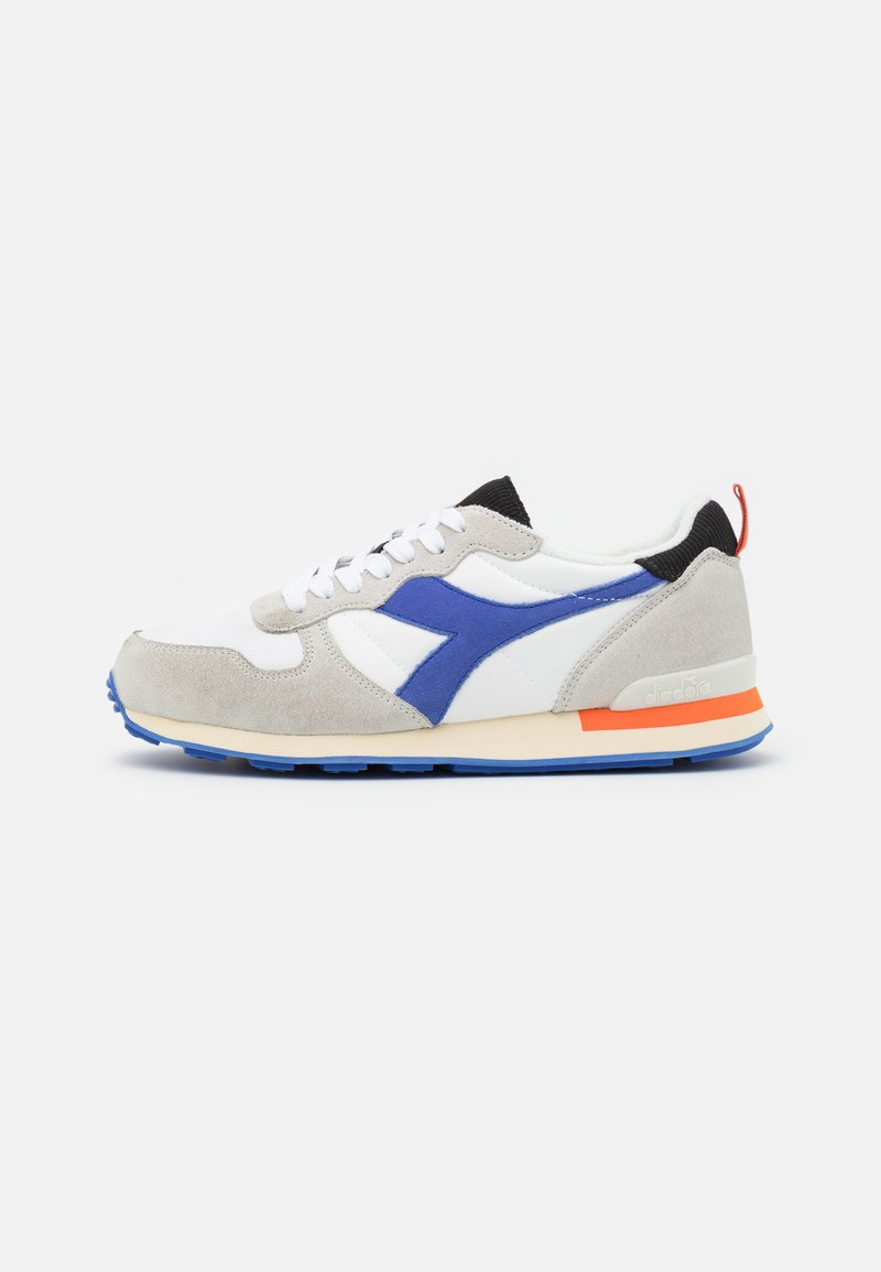 Diadora - ICONA UNISEX - Trainers - white/amparo blue/orangeade
