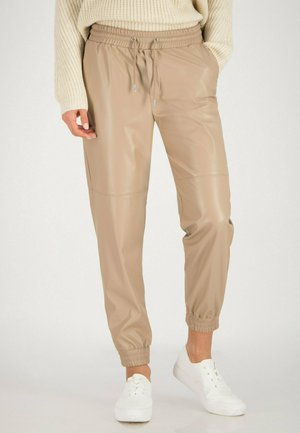 Trainingsbroek - oyster beige