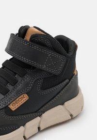 Geox - FLEXYPER BOY - Lace-up ankle boots - black - 5