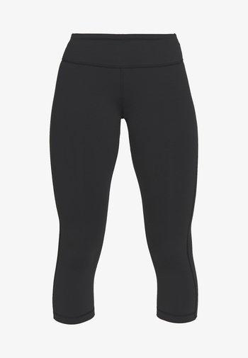 LUX 3/4 - Pantalón 3/4 de deporte - black