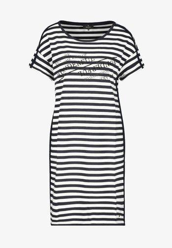 GESTREIFT - Day dress - black, white